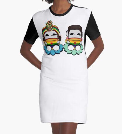 STPC: Naka Do & Oyo Yo (Tea & Pride) Graphic T-Shirt Dress