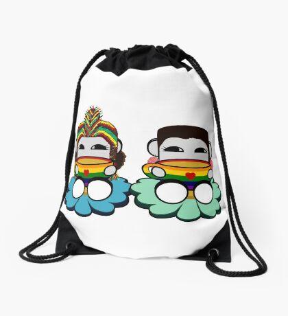 STPC: Naka Do & Oyo Yo (Tea & Pride) Drawstring Bag