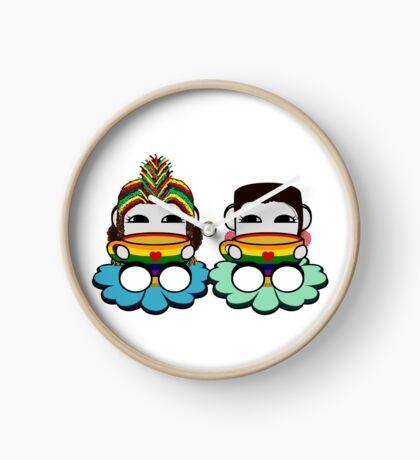 STPC: Naka Do & Oyo Yo (Tea & Pride) Clock