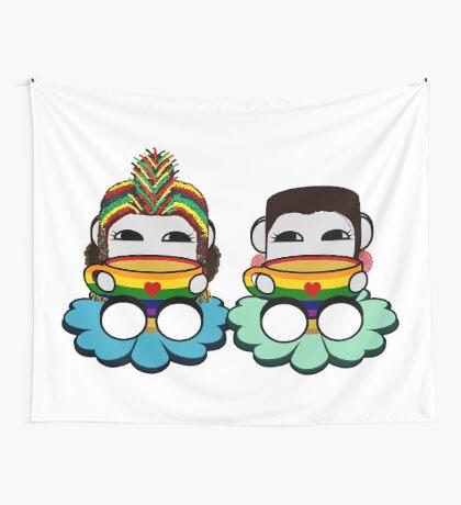STPC: Naka Do & Oyo Yo (Tea & Pride) Wall Tapestry
