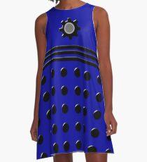 Its a Dalek Doctor Who Cosplay - Blue A-Line Dress