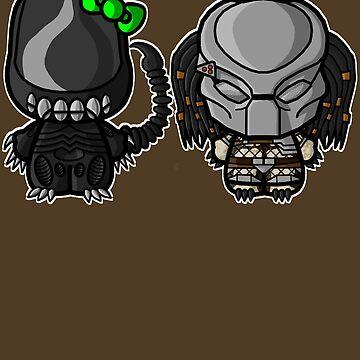 Ickle Bug n' Pred by thrndmfctry