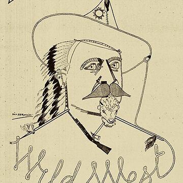 Buffalo Bills Wilder Westen - Amerikanische Geschichte von warishellstore