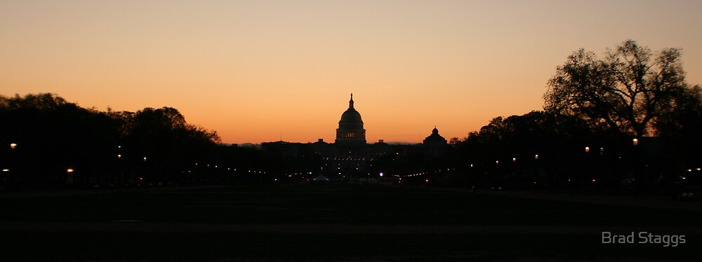 Sunrise in Washington DC by Brad Staggs