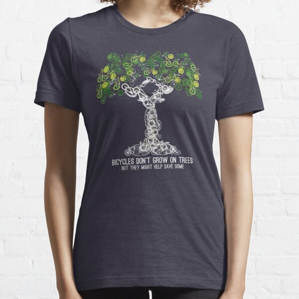 Bike Tree (white) Essential T-Shirt