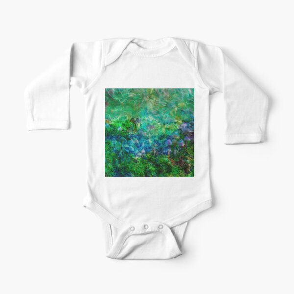 Tangled Bank 3 Long Sleeve Baby One-Piece