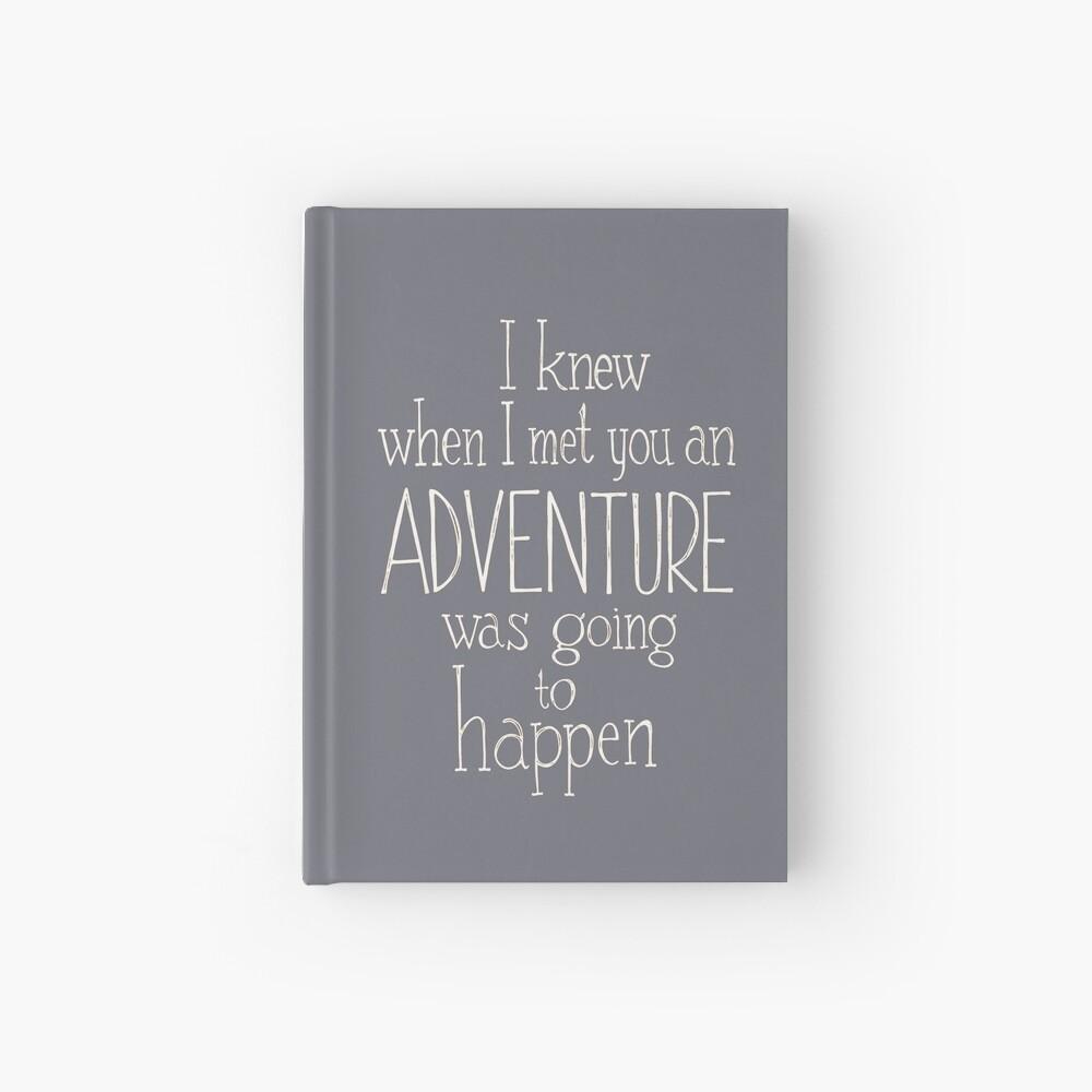 Adventure  Hardcover Journal