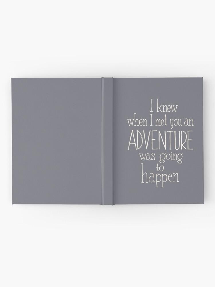 Alternate view of Adventure  Hardcover Journal