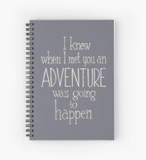 Cuaderno de espiral Aventuras