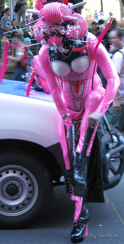 Pink Geisha by Jeffrey Hamilton