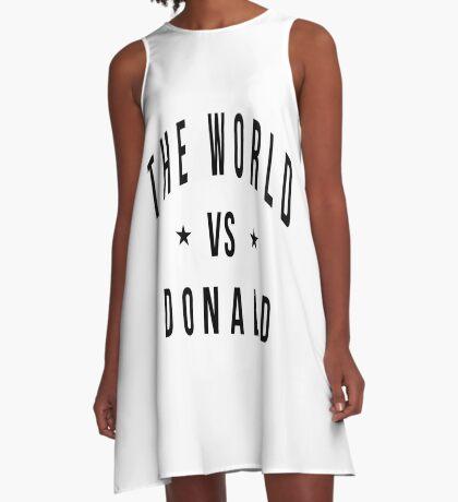 The world vs donald A-Line Dress