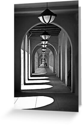 Arches & Shadows by Heather Friedman