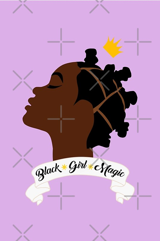 """Black Girl Magic"" Posters By Giovannics"