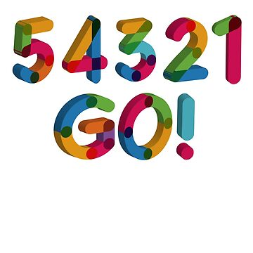 5-4-3-2-1 GO = The Five Second Rule by lilypadsales
