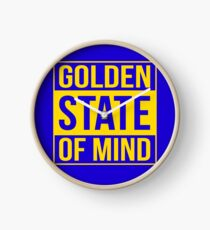 Golden State of Mind Clock