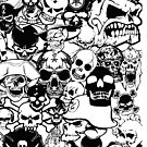 Skull Collage by EthosWear