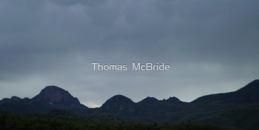 hills by Thomas  McBride