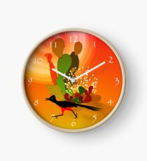 Roadrunner Sunrise Clock