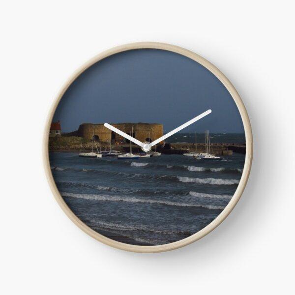 Rough Seas at Beadnell Clock
