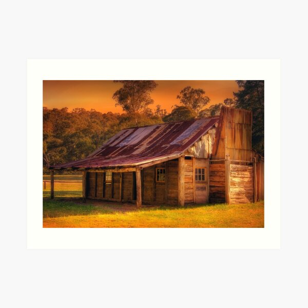 1074 Fry's Hut Art Print