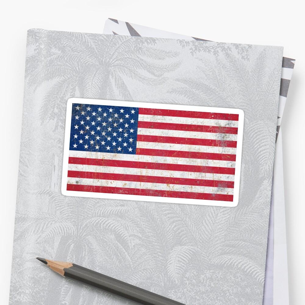 Estados Unidos Pegatina
