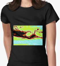 MYSTIQUE CLOUDS Womens Fitted T-Shirt