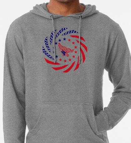Independent Murican Patriot Flag Series Lightweight Hoodie