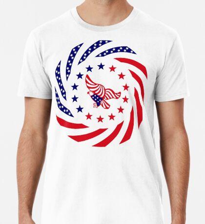 Independent Murican Patriot Flag Series Premium T-Shirt