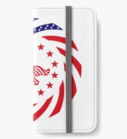 Independent Murican Patriot Flag Series iPhone Wallet