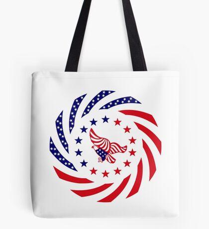 Independent Murican Patriot Flag Series Tote Bag