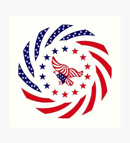 Independent Murican Patriot Flag Series Art Print