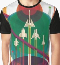 NASA JPL Space Tourism: A Once in a Lifetime Getaway Graphic T-Shirt