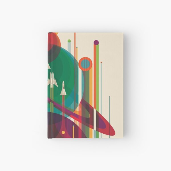 NASA JPL Space Tourism: A Once in a Lifetime Getaway Hardcover Journal