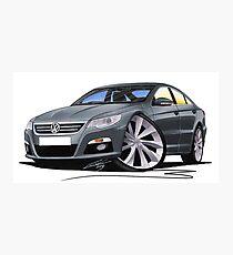 VW Passat CC Grey Photographic Print