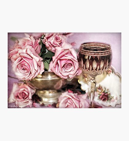Wine And Roses Photographic Print