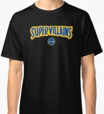 edd4d6748a9 Super Villains Classic T-Shirt