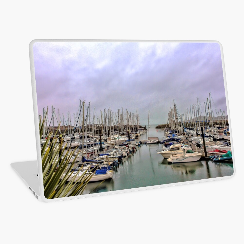 Howth Harbour Laptop Skin