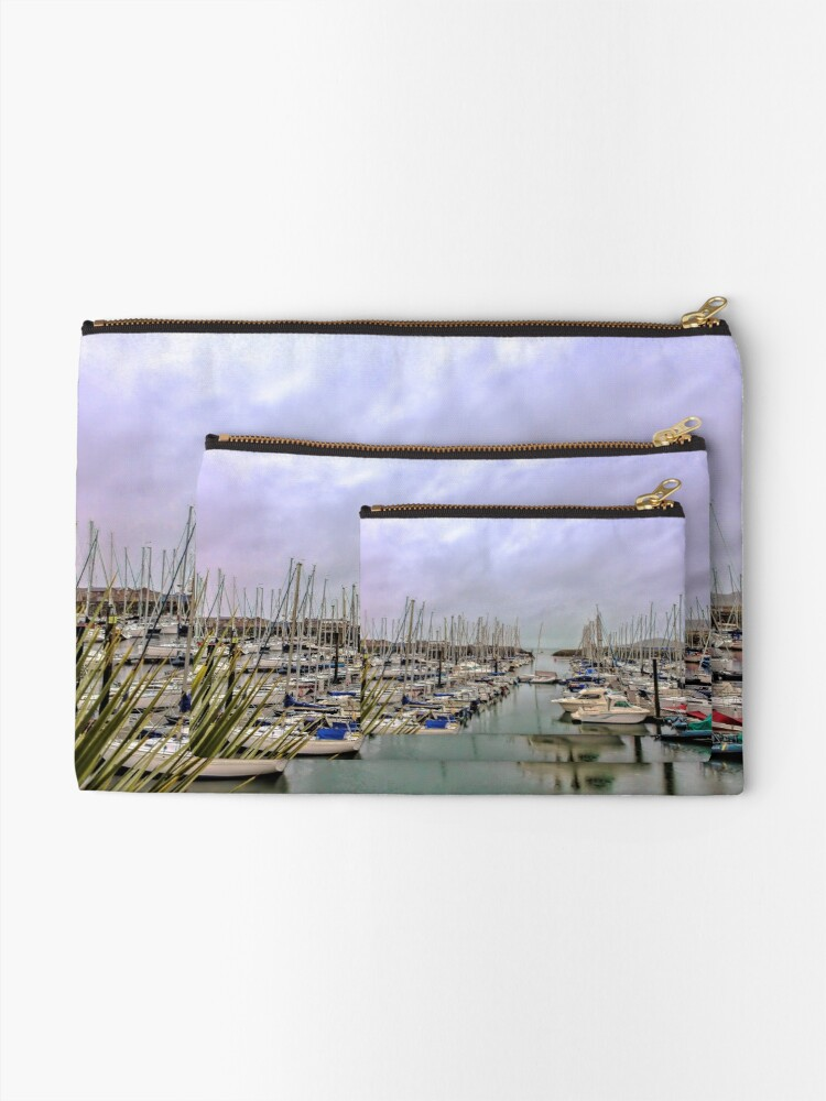 Alternate view of Howth Harbour Zipper Pouch