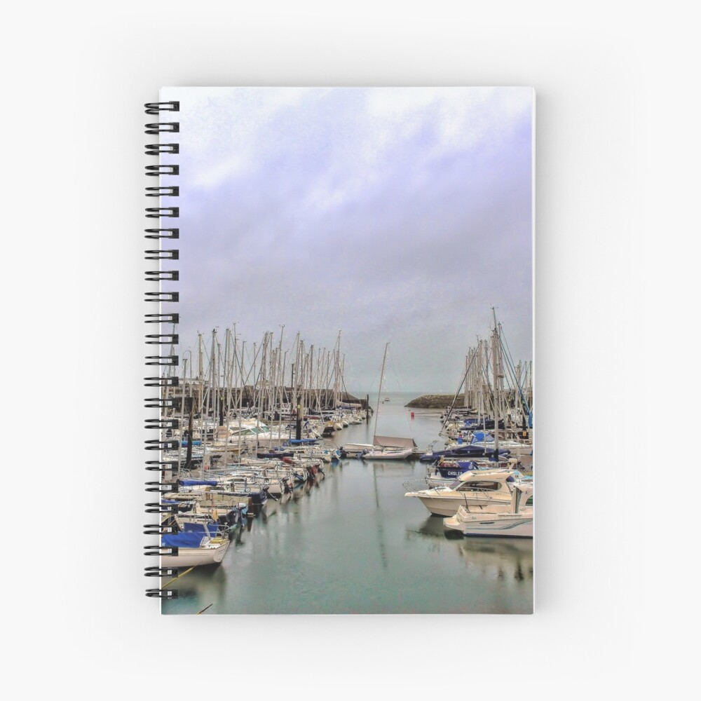 Howth Harbour Spiral Notebook