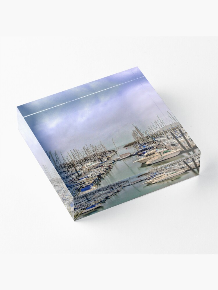 Alternate view of Howth Harbour Acrylic Block