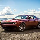 2017 Dodge Challenger 5.7 Hemi Octane Red 4 by SD 2016 Photography & Art Creations