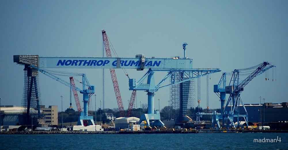 Worlds Largest Crane by madman4