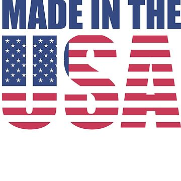 Made In The USA by lilypadsales