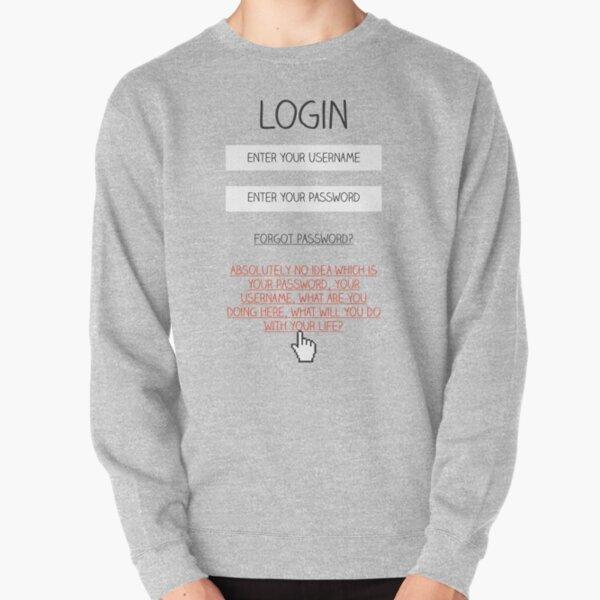 Honest Login Pullover Sweatshirt