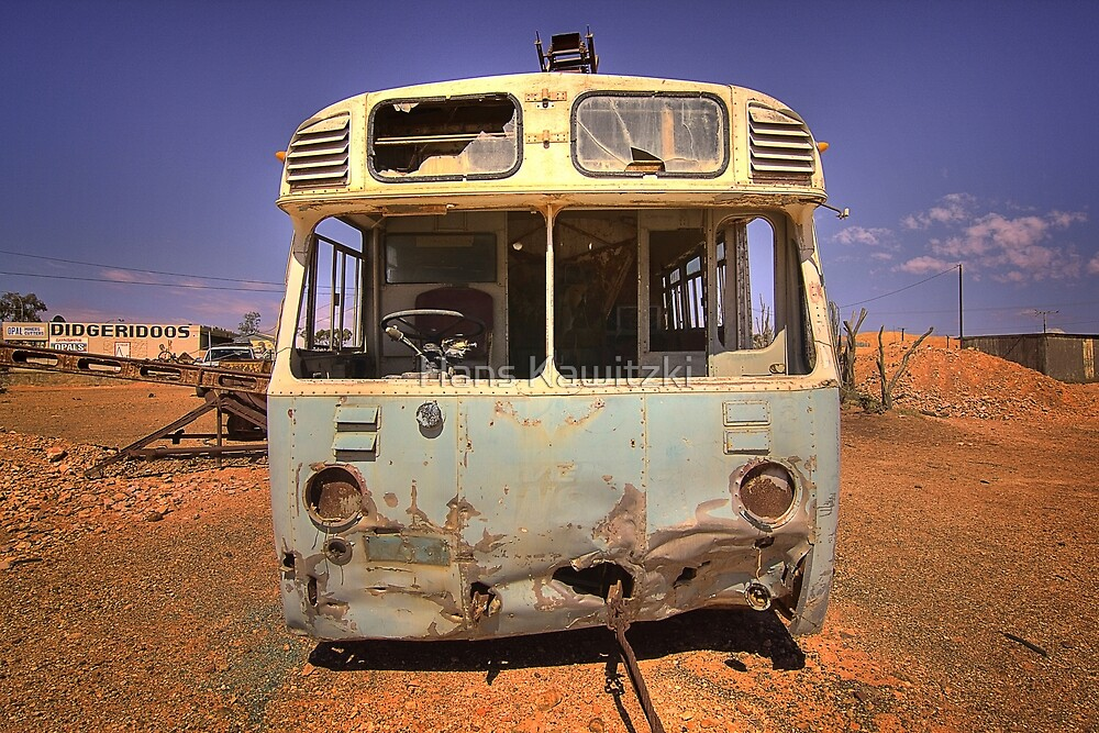 1085 In Tow - Coober Pedy by Hans Kawitzki