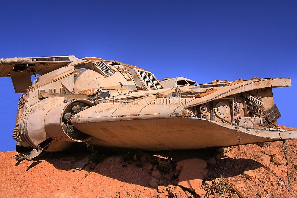 1086 The Spaceship - Coober Pedy by Hans Kawitzki