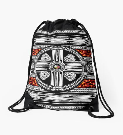 Fire Spirit Drawstring Bag