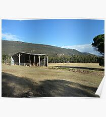 Laurie's Shed_Grampians_Victoria Poster