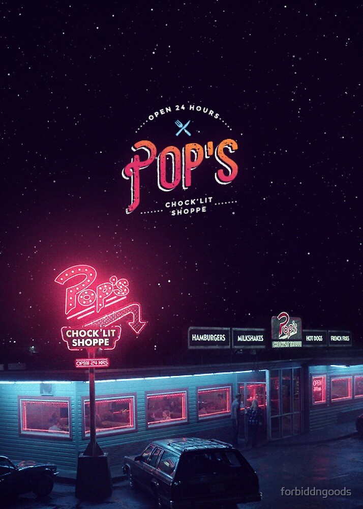 Pop's Diner by forbiddngoods