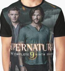 Sam Dean Supernatural Cover Graphic T-Shirt